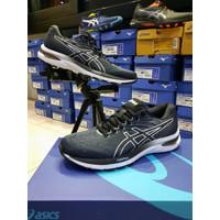 Sepatu Running Asics Gel Cumulus 22 Black White Original