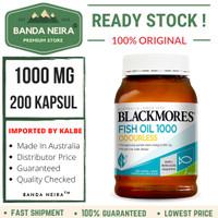 Blackmores Odourless Fish Oil 200 Kapsul 1000 Mg