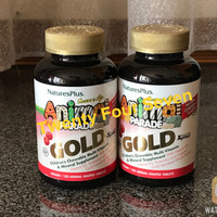 Animal Parade Gold Multivitamin Anak Chewable Nature Plus USA isi 120