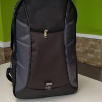 Tas ransel polos/ backpack laptop serbaguna