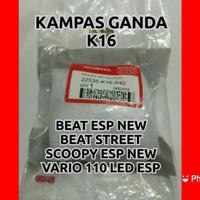 Kampas ganda cvt K16 ASLI ORI BEAT VARIO 110 FI ESP SCOOPY SRREET