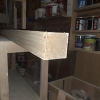 balok kayu jati belanda 8cmx8cmx100cm
