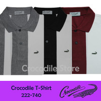 Kaos Kerah Polo Slim Fit Pria Crocodile 222-740