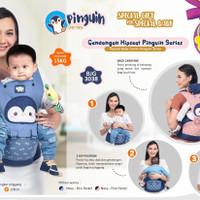 Gendongan Hipseat Pinguin Series Baby Joy // BJG 3038