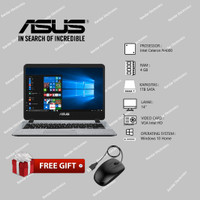 TERMURAH! LAPTOP ASUS A407M Intel N4000 RAM 4GB-1TB / Fingerprint