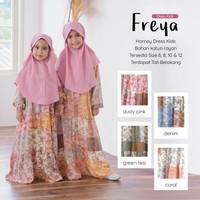 Baju Gamis Anak TK SD Dress Muslimah Kids Syari Rayon Size 6 8 10 12