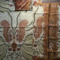 bahan batik tulis sarimbit sutra couple 924MS