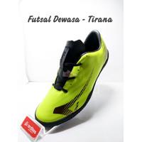 SOS !!! ARDILES Sepatu Futsal Dewasa - Tirana - Hijau Citrun, 38