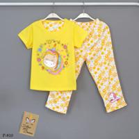 Baju Tidur Setelan Pendek Panjang Unicorn P-810 / PP size 14-16-18