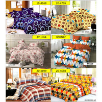 Lidia Bed Cover Set 160x200 No.2 Queen Size