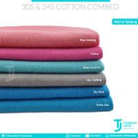 Bahan Kaos Kiloan Cotton Combed 30s & 24s Warna2 Medium
