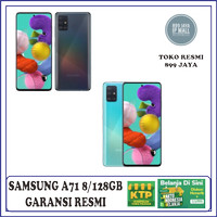 SAMSUNG A71 8/128 GARANSI RESMI SEIN SAMSUNG !!!