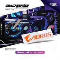 Cutting Sticker Aorus || Stiker Gigabyte Aorus