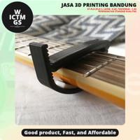 Ratcheting Capo Gitar 3D Print Bandung WICTMGS