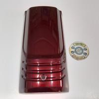 panel dasi dada honda astrea grand bulus merah maron original ahm