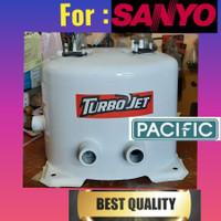 Tangki Tabung ORI Japan pompa air pendorong SANYO 250 WATT ph 258 jp