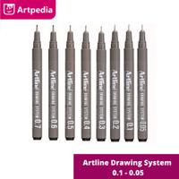 Drawing Pen Artline 0.05 - 0.8