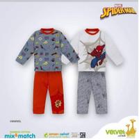 Velvet Junior Setelan Piyama Cotton Bamboo Baju Tidur Anak