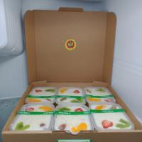 Salad Buah 200ml Kotak (isi 6 cup)