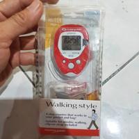 Omron hj-113 pedometer alat kesehatan