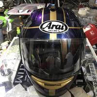 Helm Cargloss repaint arai RX7 ( Paket ganteng )
