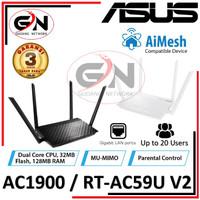 ASUS RT-AC59U Dual Band Gigabit Wireless Router AC1500