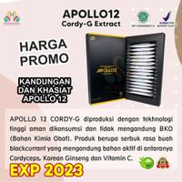 Herbal Apollo12 - Promo Termurah Exp 2022 - (1Bok) Apollo 12