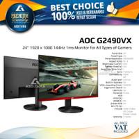 Monitor LED AOC G2490 G2490VX 24 1080p 144Hz 1ms HDMI DP Audio Out