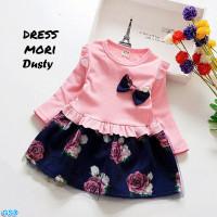 Dress Mori Kids-Dress Anak Balita Cute /Baju Terusan Dress Anak Trendy