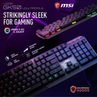 MSI VIGOR GK50 LOW PROFILE - MECHANICAL RGB GAMING KEYBOARD