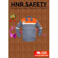 baju proyek seragam safety kerja