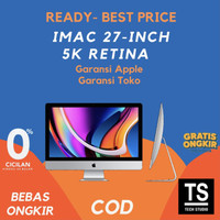 "[RESMI] Apple iMac 2020 MXWU2 5K 27"" inch 512GB 3.3Ghz 6C i5 8GB"