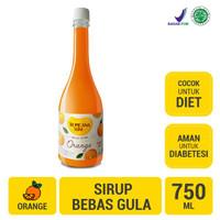 Tropicana Slim Sirup Orange 750ml - Sirup Bebas Gula