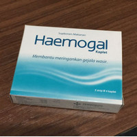 Haemogal 12's kaplet diosmin hesperidin ardium wasir ambeien hemoroid