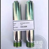 Sambungan Peninggi Shock Skok Depan CB150R Panjang 15 Cm