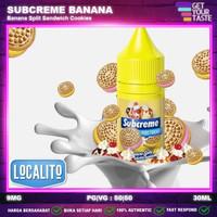 Liquid Subcreme Banana Split Pods Friendly 30ML by Localito