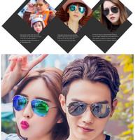 Kacamata Hitam Pria Wanita Pro Acme Aviator Mirror / Sunglasses Korean