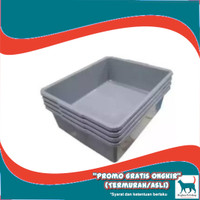 Cat Litter Box Bak Kotak Pasir Kucing Ukuran Besar Size L Kuat Murah