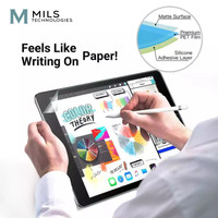 Anti Gores Paperlike Screen Protector iPad 6 7 Air 3 4 Pro 11 2018/20 - Mini 4 5