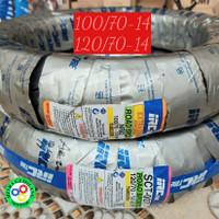 BAN PAKET 100/70-14 DAN 120/70-14 MERK IRC TUBELESS