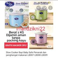 Slow Cooker Bayi Baby Safe Penanak dan penghangat makanan LB009 LB008