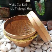 Bakul Wakul Nasi Bambu (Keci, Sedang) - Kecil