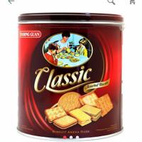 KG CLASSIC KHONG GUAN kaleng kecil 350 gram | biskuit kaleng lebaran