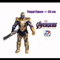 Hot Zd toys Thanos Avengers endgame Original Figure