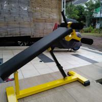 Alat Olahraga Fitness Gym - Bangku Sit Up Bench Andjustable
