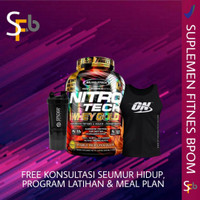 muscletech nitrotech whey gold 5.5 lbs 82 serving protein isolate on