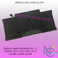 Baterai Battery Apple MacBook Air 13  A1496 A1466 2013 2014 2015 2017