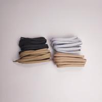 ORIGINAL Tali Sepatu Adidas Alphabounce Gold ft.(Black/White) 125cm