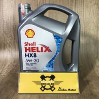 Oli Mesin Shell Helix HX8 5W-30 4 Liter -Full Synthetic -Bensin/Diesel