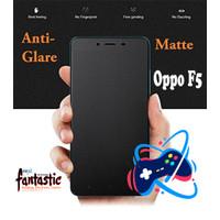 Anti Gores Matte Glare Anti Minyak Screen Protector Anti Blue Oppo F5